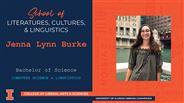 Jenna Lynn Burke - BS - Computer Science & Linguistics
