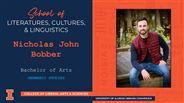 Nicholas John Bobber - BA - Germanic Studies