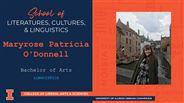 Maryrose Patricia O'Donnell - BA - Linguistics