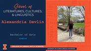 Alexandria Devlin - BA - Spanish