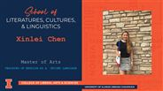 Xinlei Chen - MA - Teaching of English as a  Second Language