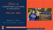 Peijie Gao - MA - East Asian Languages & Cultures