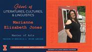Marianne Elizabeth Jones - MA - Teaching of English as a  Second Language