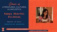 Kamya Bharthi Krishnan - MA - Translation and Interpreting