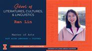 Ran Lin - MA - East Asian Languages & Cultures