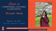 Shiyue Peng - MA - East Asian Languages & Cultures