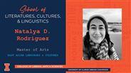 Natalya D. Rodriguez - MA - East Asian Languages & Cultures