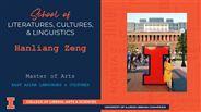 Hanliang Zeng - MA - East Asian Languages & Cultures