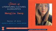 Mengjia Zeng - MA - Teaching of English as a  Second Language