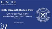 Sally Burton-Doss - Elizabeth - Phi Theta Kappa