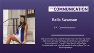 Bella Swanson