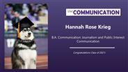 Hannah Krieg - Hannah Rose Krieg