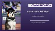Sarah Takallou - Sarah Sonia Takallou