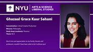 Ghazaal Grace Kaur Sahani - Ghazaal Grace Kaur Sahani